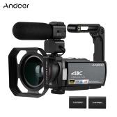 Videoregistratore DV Andoer HDV-AE8 4K WiFi Videocamera digitale