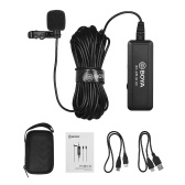BOYA BY-DM10 UC USB Lavalier Lapel Microphone Mic Clip-on Omni-directional