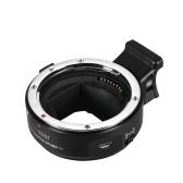 Andoer EF-NEX IV Adapterring für Objektivmontage Hochgeschwindigkeits-Digital-Autofokus