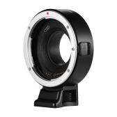Anillo adaptador de montura de lente de enfoque automático Andoer EF-FX