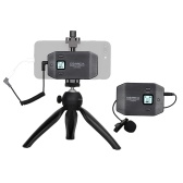 COMICA CVM-WS50(C) 6-Channel UHF Wireless Smartphone Lavalier Microphone System