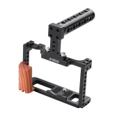 Andoer Aluminum Alloy Camera Cage Kit Protective Vlog Cage