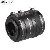Micnova KK-C68P Ensemble de micro-extension Macro Macro pour Canon (12mm / 20mm / 36mm) 60D 70D 5D2 5D3 7D 6D 650D 600D 550D