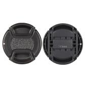 55mm Center Pinch Snap-on Objektiv Cap Cover Keeper Halter für Canon Nikon Sony Olympus DSLR Kamera Camcorder