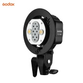 Godox WITSTRO AD-B2 AD200 Dual Power Flash Head Bowens Mount Double Tube Support de tête de lumière pour AD200 Speedlite flash portable