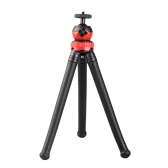 Mini Flexible Tripod Octopus Spider Stand Holder with 360° Ball Head