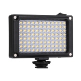 PULUZ PU4096 do kieszonkowych 96 diod LED 860LM Pro Fotografia do oświetlenia wideo Studio do aparatów DSLR do aparatów fotograficznych Akcesoria