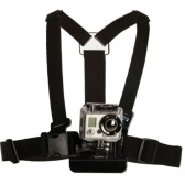 Adjustable Practical Action For Gopro HD Hero Camera Body Harness Belt Chest Strap Accessories Professiona Mount Outdoor Sport Elastic Shoulder