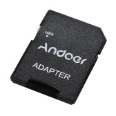 Andoer 64 GB Class 10 Speicherkarte Tf-karte + Tf-karte Adapter für Kamera Auto Kamera Handy Tisch PC Audio Player GPS