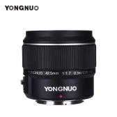 YONGNUO YN42.5mm F1.7M Large Aperture Auto Focus/Manual Focus Lens