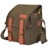 CADeN Canvas Schulterkameratasche Messenger Bag