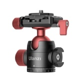 Ulanzi U-70 Mini Ball Head Dual 360 ° Ajuste Panorama