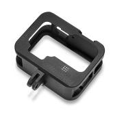 Caja de la carcasa de la jaula de la cámara Camer con tornillos Adaptador de destornillador Reemplazo para cámara de acción negra GoPro 9