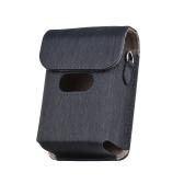 Étui de protection pour appareil photo portable avec sac de rangement pour appareil photo à impression étanche avec remplacement de bandoulière détachable pour Fujifilm Instax Mini Link
