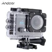 Andoer Q3H 170°広角4K超HD 25FPS 1080P 60FPS Wifiアクションカメラ