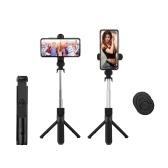 5-Section Extendable Selfie Stick Integrated Universal Phone Holder Tabletop Tripod