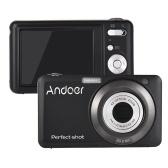 Andoer 20MP 720P Kamera cyfrowa HD z 2-akumulatorkami i 8-krotnym zoomem optycznym i 4-krotnym zbliżeniem cyfrowym Anti-shake 2.7 calowy ekran LCD Kids Christmas Gift