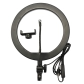 Photography LED Selfie Ring Light Lighting with Tripod Dimmable Wide Dimming Range Lights for Camera Photo Studio Selfie Photography