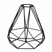 Винтажный металлический абажур Промышленный DIY клетка для птиц геометрический абажур