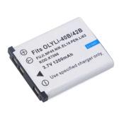 1200mAh Li-40B/42B batería para Olympus Li-42B/Pentax D-Li63/Fuji NP-45/EN-EL10 + más