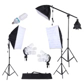 Photography Studio Lighting Kit 3pcs Softbox Tripod Stand