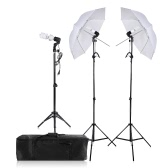Photographie / Video Portrait Umbrella Continuous Triple Lighting Kit
