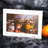 "Andoer 10"" HD TFT-LCD 1024 * 600 Digital Photo Frame Album Clock MP3 MP4 Movie Player w/ Remote Control"