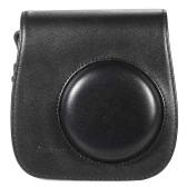 Кожаная Сумка Камеры Сумка-чехол для Fuji Fujifilm Instax Mini8 Mini8s Одноместная сумка плеча