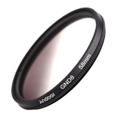 Andoer 58mm forme circulaire a obtenu son diplôme de gradué gris filtre à densité neutre GND8 pour Canon Nikon DSLR appareil photo