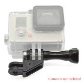 Andoer 90 °回転できのデザインのアダプター、ナット付き、GoPro Hero 4/3+/3/2/1カメラ、 SJCAM SJ4000 5000用