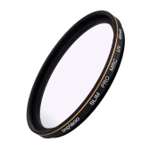 CACAGOO 46mm Pro HD Super Slim MRC Filtr UV szkła optycznego Waterproof Multi-Coated Nano do Canon Nikon Sony Pentax DSLR Camera