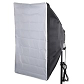 "Portable 50 * 70cm / 20""* 28"" parapluie Softbox réflecteur pour Flash"
