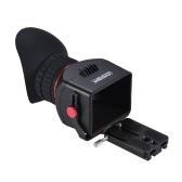 "Sevenoak SK-VF プロ用 13×倍率 ファインダー拡大鏡 Canon EOS Nikon Olympus Lumix 3"" 3.2"" LCDカメラ用【並行輸入品】"