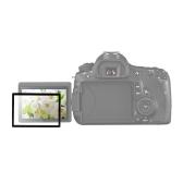 GGS Protector de pantalla de LCD vidrio óptico DSLR cámara para la cámara de Canon 60D