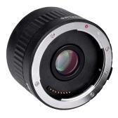Lente Viltrox C-AF de segunda mano Amplificador de teleconversor Lente de montaje de enfoque automático para Canon EOS EF Lente para Canon EF lente 5D II 7D 1200D 760D 750D Cámara réflex