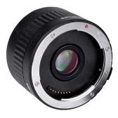 Viltrox C-AF 2X倍率 テレコンバーター エクステンダー オートフォーカス マウントレンズ for Canon EOS EF レンズ for Canon EF レンズ 5D II 7D 1200D 760D 750D デジタル一眼レフカメラ用【並行輸入品】
