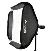 """Godox 80 * 80cm / 31 """"* 31"""" flash Softbox Diffuseur de type S Support boîtier Bowens pour Speedlite Flash Light"""