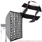 "Fotograficzny Honeycomb Siatka 50 * 20 * 70cm / 28 ""Parasol Softbox Studio / Strobe Umbrella softbox"