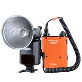 GODOX Witstro AD360II-C Kit luz de TTL 360W GN80 Flash Speedlite portátil de gran alcance externo con 4500mAh Batería de litio de PB960 para las cámaras Canon EOS