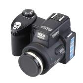 """Appareil photo numérique HD d'occasion 16MP 3.0 """"Écran LTPS Appareil Photo Reflex 16 fois avec un téléobjectif grand angle"""