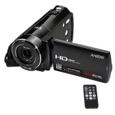 "Second Hand Andoer HDV-V7 1080P Full HD Digital Video Camera Camcorder Max. 24 Mega Pixels 16× Digital Zoom with 3.0"" Rotatable LCD Screen Support Face Detection"
