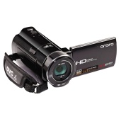 """中古ORDRO HDV-V7 1080PフルHDデジタルビデオカメラビデオカメラマックス。 3.0 """"回転可能LCDスクリーンサポート顔検出機能付き24メガピクセル16倍デジタルズーム"""