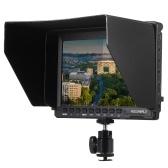 秒針Feelworld FW74Kポータブル7インチウルトラHD 1280 * 800 IPS LCDスクリーンカメラモニターは、BMPCC用のソニーA7S FS7用パナソニックGH4のバッテリーバックルプレート付き4K UHD 3840 * 2160p(29.97 / 25 / 23.98)をサポート