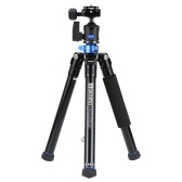Second Hand Benro IS05 Portable Light Aluminum Alloy Tripod Kit Center Column Can Turn to Selfie Stick for Smartphone Mirrorless Camera DSLR Camera