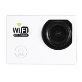 """Caméra de sports d'action complète Full HD Wifi Caméra 2.0 """"LCD 12MP 1080P 30FPS 140 Degrés Large Objectif étanche pour la voiture DVR FPV PC Caméra Plongée Vélo Activité de plein air"""