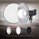 Second Hand 41cm Beauty Dish Reflector Strobe Lighting Honeycomb for Bowens Mount Speedlite Photogrophy Light Studio Accessory