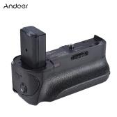 Agarrador de batería vertical Andoer BG-3FIR Vertical de segunda mano con infrarrojos IR y puerto de carga micro USB Compatible con 2 * Batería NP-FW50 para Sony A6300 / A6500 ILDC Cámara sin espejo