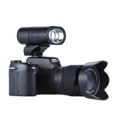 "Second Hand Polo Sharpshots Auto Focus AF 33MP 1080P 30 fps FHD 8X Zoomable Digital Camera w / Standard + 0.5X szeroki kąt + 24X Teleobiektyw Long Lens 3.0 ""LCD Bulit-in Latarka Odpinany LED Light"