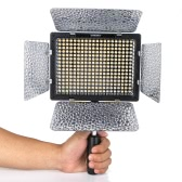 YONGNUO YN-300 II LED câmera vídeo luz ajustável temperatura da cor 3200K - 5500k para DSLR Canon Nikon com controle remoto IR
