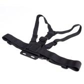 Einstellbare elastische Körper Chest Harness Schlaufenhalterung Gurt für Gopro Hero 1 2 3 Hero3+ 4
